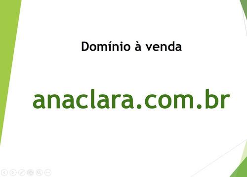 domínio anaclara.com.br