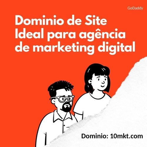 domínio de site ideal para agencias de marketing digital