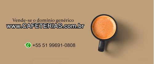 domínio genérico cafeterias.com.br
