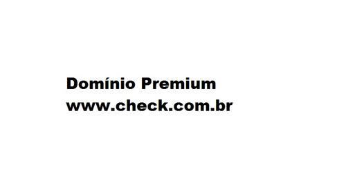 domínio premium à venda check.com.br