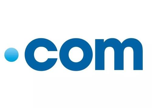 dominio web .com por 1 año registro nombre