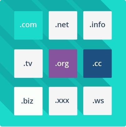 dominios p/ tu pagina web en bolivares te indico disponibles