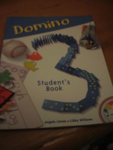 domino 3 student´s  book, angela llanas