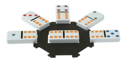 domino de colores en lata juego de mesa 98405 full
