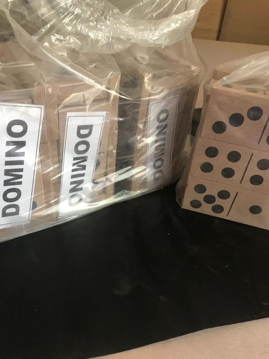 Domino De Madera Gigante 21 Piezas Envios No Hago 350 00 En
