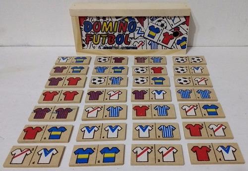 domino de madera, memoria, alfabeto, loteria - diverti toys