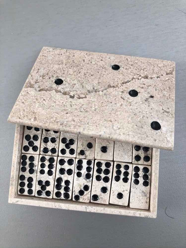 dominó de mármol mini