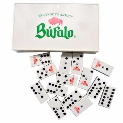 domino de plastico con publicidad de su marca ó negocio