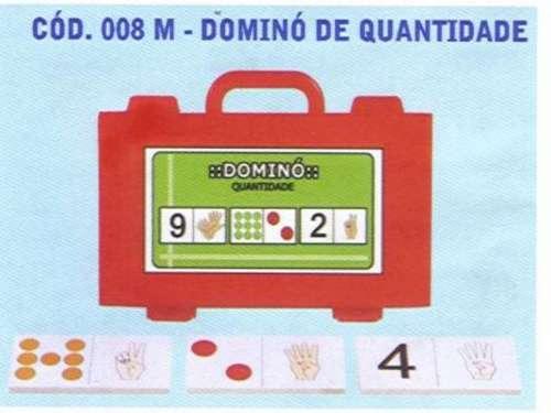 dominó de quantidade em mdf - 008 m bm