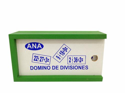 domino divisiones
