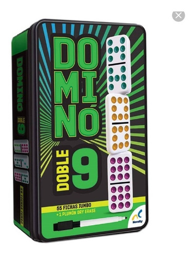 domino doble 9 novelty