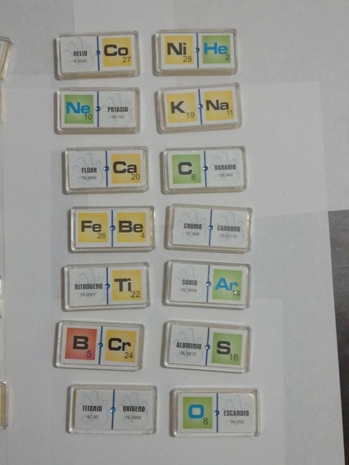 Domino elementos quimicos 1 y 2 material didactico 23200 en cargando zoom urtaz Gallery
