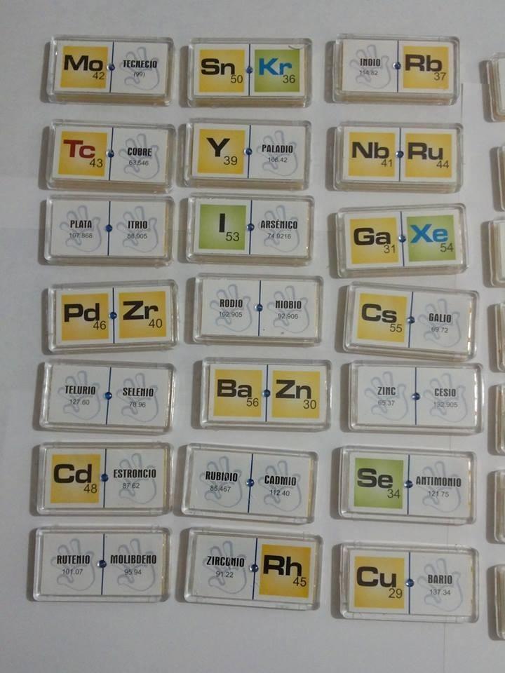 Domino elementos quimicos 1 y 2 material didactico 23200 en cargando zoom urtaz Image collections