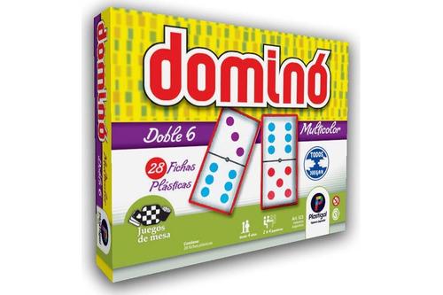 dominó multicolor plastigal