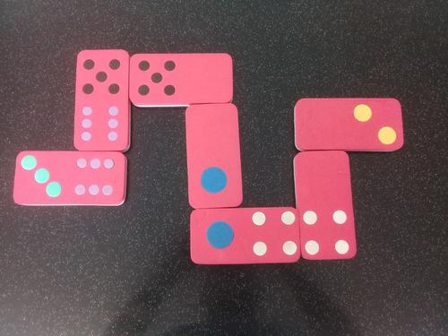 domino para niños en foami