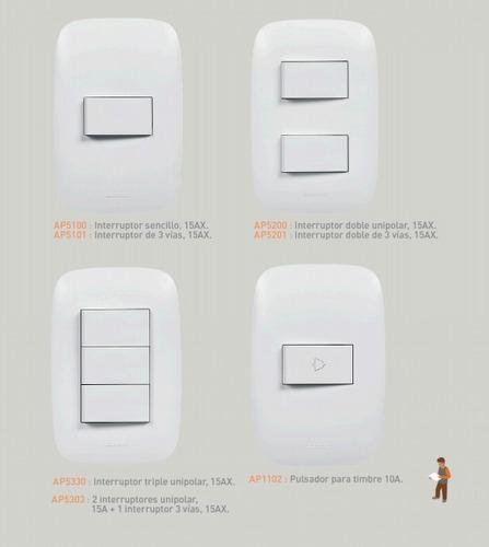 domino sencia tomas e interruptores nuevos bticino