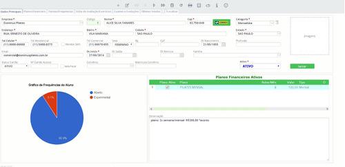dominus pilates - software de gestão de estúdios e clinicas