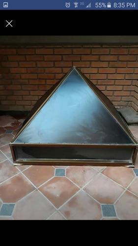 domo de cristal esmerilado