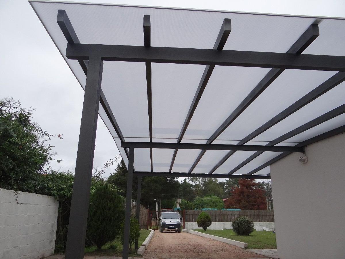 Domo de policarbonato y vidrio en mercado libre for Techos de policarbonato para balcones