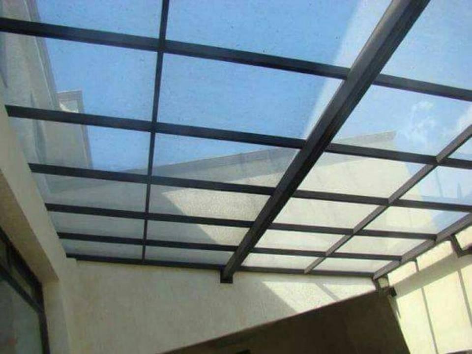 Domo de policarbonato y vidrio en mercado libre - Vidrio de policarbonato ...