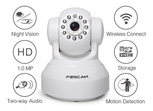domo ip motorizado interior wifi hd 720p foscam fi9816p