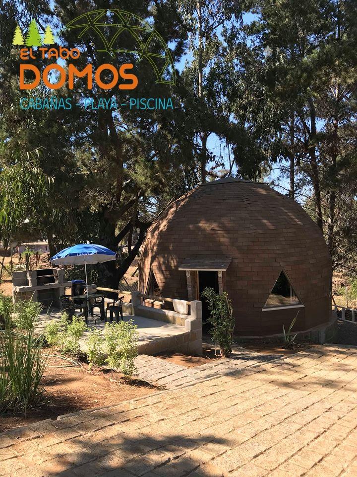 domos en el tabo    campo - playa y piscina  verano2020