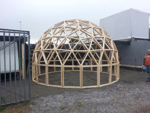 domos geodésico prefabricados