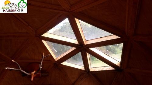domos geodesicos - bonitos diseños