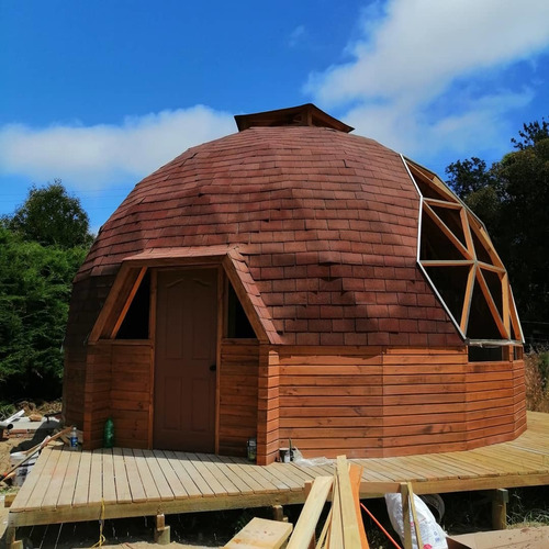 domos geodésicos prefabricados kit domo