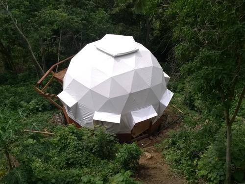 domos, glamping, domos geodésicos, geodomos colombia