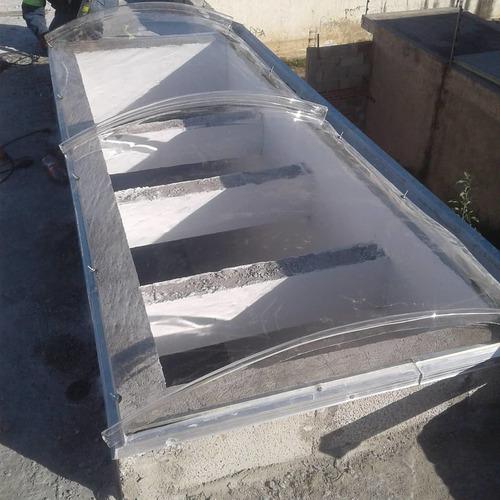 domos y techados transparentes