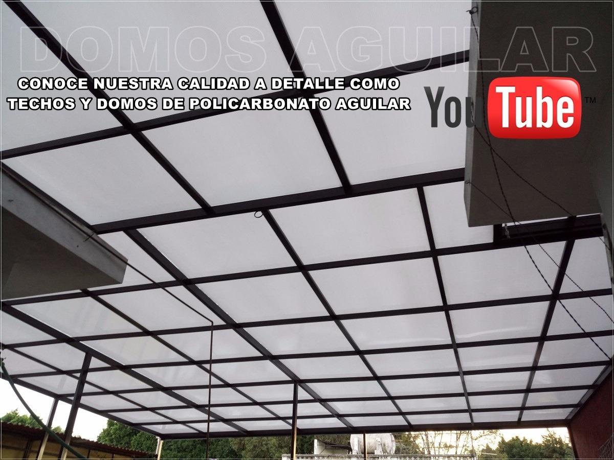 Domos y techos de policarbonato de primera calidad 800 - Precio del policarbonato ...
