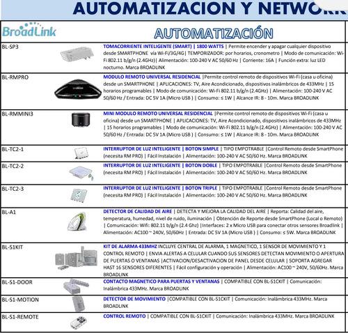 domótica bl-s1ckit kit de alarma automatización