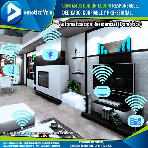 domotica casas inteligentes automatización