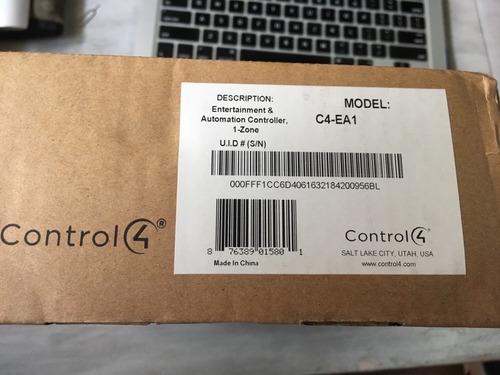 domotica control4 ea1, ultima generación home controller