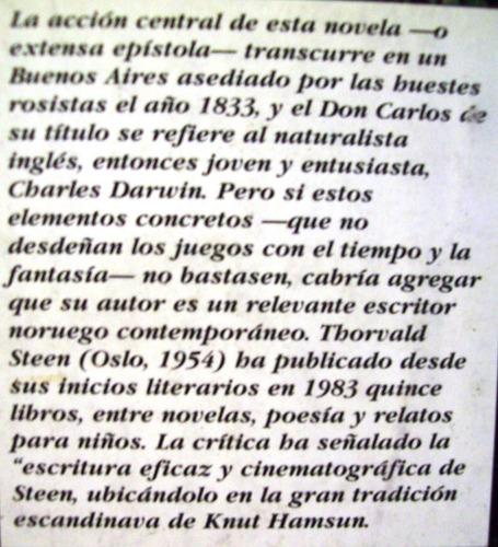 don carlos thorvald steen editó losada argentina narrativa