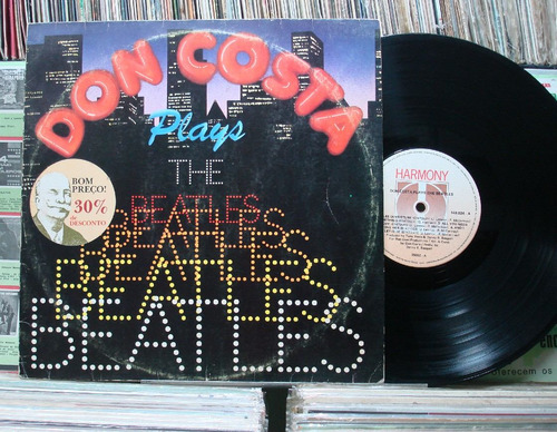 don costa sua orquestra plays the beatles - lp harmony