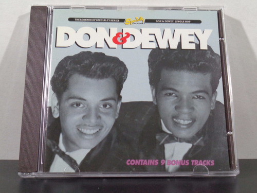 don & dewey - jungle hop - cd orig imp rarissimo av8