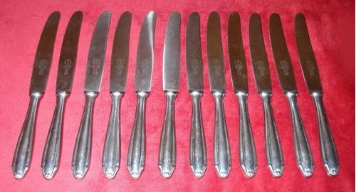 don emilio antiguo juego cubiertos cuchillos arbolito boker