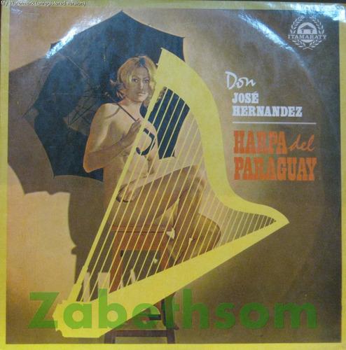 don josé hernandez lp harpa del paraguay