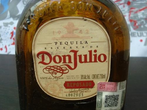 don julio rep 750ml botella vacia manualidades changoosx