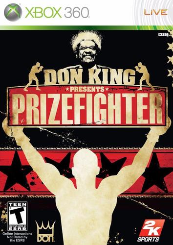 don king presents prize fighter nuevo sellado xbox 360