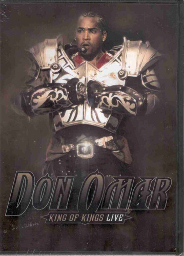 don omar - king of kings live (dvd)