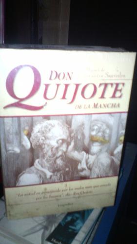 don quijote de la mancha 2 tomos nuevos