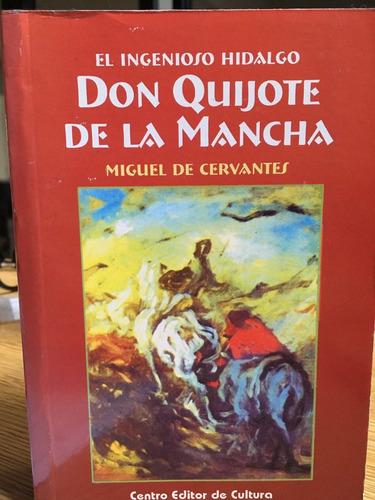don quijote de la mancha - cervantes - tapa dura