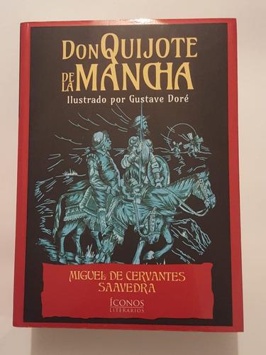 don quijote de la mancha / ilustrado + envío gratis
