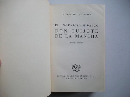 don quijote de la mancha - miguel de cervantes - ilustrado
