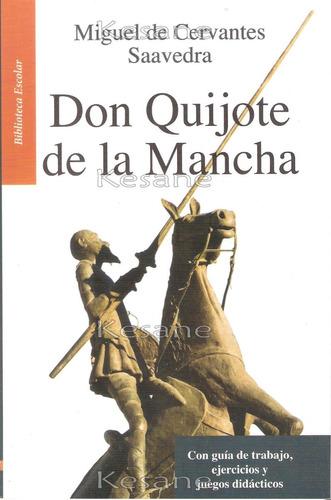 don quijote de la mancha / miguel de cervantes libro juvenil