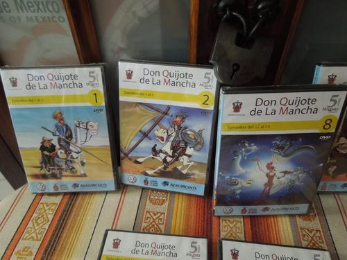 don quijote mancha dibujo animados dvd