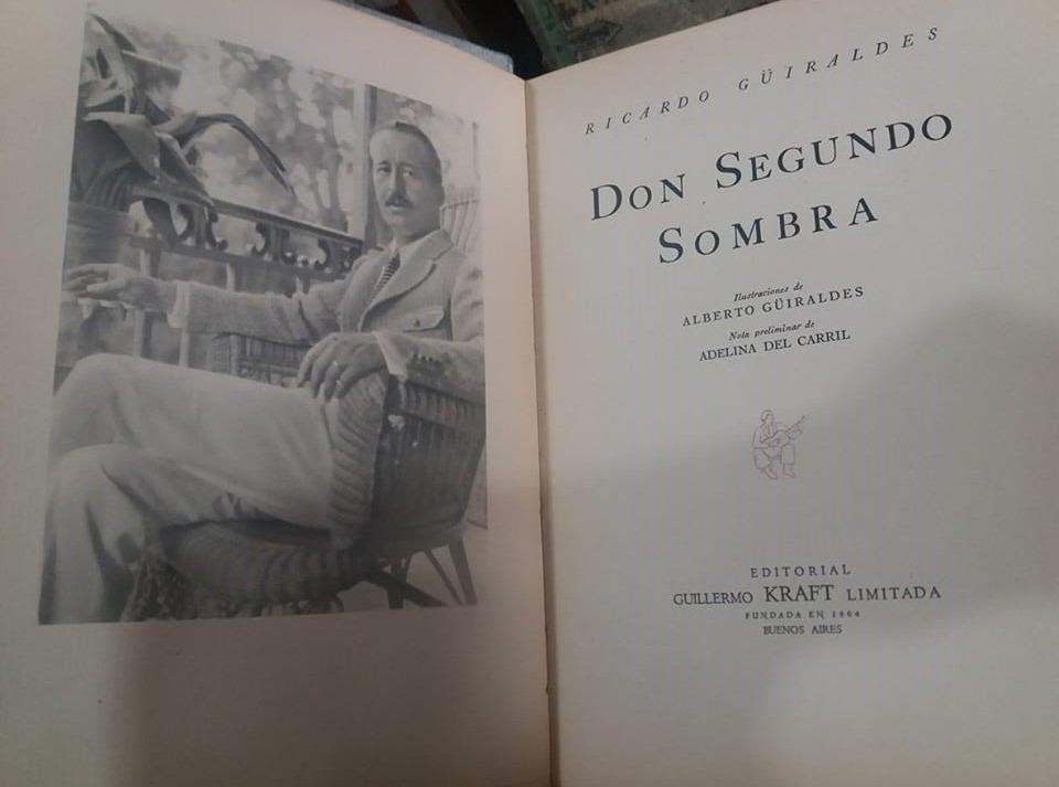 2820896f5 Don Segundo Sombra Ed.especial Detalles En La Publicación -   2.790 ...
